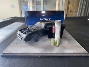 1 18 Mad Max Ford XB falcon tuned version black interceptor
