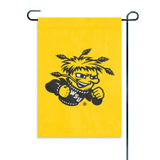 """Witchita State Shockers 15"""" x 10.5"""" Applique and Embroidered Mini Garden Flag"""