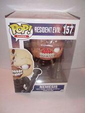 Funko Pop Nemesis Resident Evil 157 + Pop Protector
