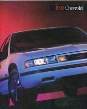 CATALOGUE VOITURE PUB. AUTO AD.CAR LA GAMME CHEVROLET 1990 EN ANGLAIS