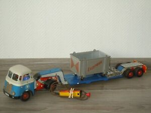 Daf Truck LKW - Container & Trailer Low Loader - Arnold Germany *36908