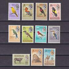BECHUANALAND 1961, SG# 168-181, CV £75, part set, animals, birds, MNH