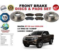 pour Mazda BT-50 2.5 3.0 PICK-UP 2006- ENSEMBLE DISQUES DE FREIN AVANT +