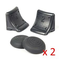 2 Sets of PS3 Triggers AND Thumb Grips - Non Slip, for Playstation 3 Controller
