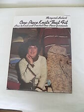 Vtg 1978 One Piece Knits that Fit- Book How to Knit n Crochet one Piece Garments
