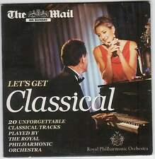LET'S GET CLASSICAL: ROYAL PHILHARMONIC ORCHESTRA - PROMO CD: MOZART BORODIN ETC