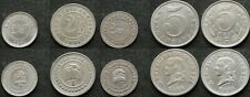 Colombia lot of 5 coins 2½ & 5 centavos 1881/1886