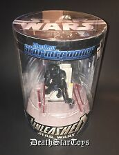 "Star Wars 6"" Unleashed Elite Shadow Stormtrooper Statue DC-19 Stealth Blackhole"