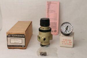 "NORGREN R11-300-RGLA 3/8"" Pneumatic Air Regulator"