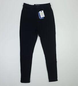 New Look Contour Black Super Skinny Jeans UK 12 Short EU 40 Premium Fabric BNWT