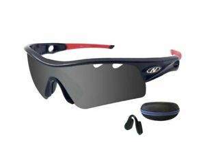 Pantone Polarized Sports Sunglasses RN901A + Replacement High Nose Pad + Hard Ca