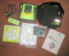 Zoll Aed Pro Defibrillator W Battery Case Pads Cable Usb Adapter Manual