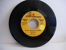 Kinks, All Day And All Of The Night/Tired of Waiting, Reprise 0719, 1968, Rock