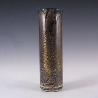 Isle of Wight Studio/Harris 'Azurene Black' Glass Vase #4