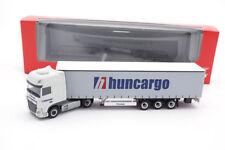"#307154 - Herpa DAF XF SSC Euro 6 rideaux planifier semi-remorque ""Huncargo"" (HU) - 1:87"