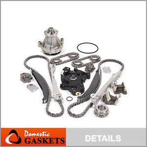99-04 Lincoln Navigator Blackwood 5.4L Timing Chain Kit Water Pump & HP-Oil Pump