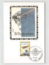 BELGIEN MK 1976 AVIATION AERO PLANE MAXIMUMKARTE CARTE MAXIMUM CARD MC CM d9340