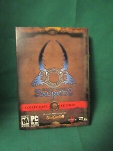 2008 RPG Sacred 2 Fallen Angel Collector's Edition