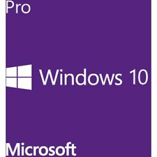 Microsoft Windows 10 Pro, DVD-ROM, englisch