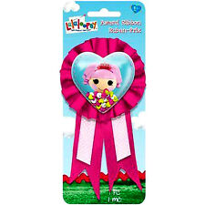LALALOOPSY HEART GUEST OF HONOR RIBBON ~ Birthday Party Supplies Favors Award