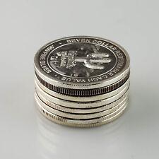 Harrah's Seven Dollars .999 Fine Silver Casino Tokens Lot of 8 NCM & LM