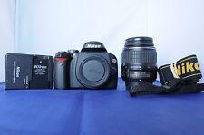 Nikon D D60 10.2MP w/18-55mm GII lens. Fully functional.