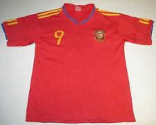 Spain National Football Fernando Torres #9 Jersey Shirt Small Soccer Futbol