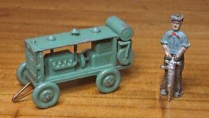 moko benbros morestone compressor with figure rare lot 2 green