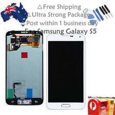 White Samsung Galaxy S5 i9600 G900F LCD Display Screen Touch Digitizer Brand New