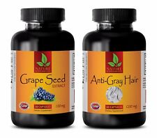 Immune factors - GRAPE SEED EXTRACT - ANTI GRAY HAIR COMBO – grape seed pills