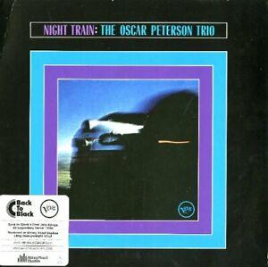 Oscar Peterson Trio - Night Train LP Vinyle Verve