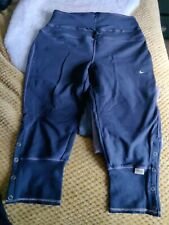 Nike Keep Fit Exercise Pants Trousers Cropped S 10/12