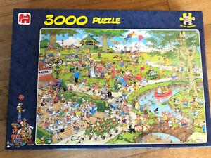 Jan Van Haasteren The Park 3000 piece NEW SEALED Jigsaw Puzzle Hasteren
