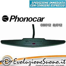 Phonocar 08012 Antenna Amplificata da Interno Parabrezza Vetro a Baffo con Led