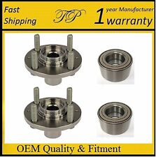 Front Wheel Hub & Bearing Kit FOR 1992-2000 Honda Civic Ex Coupe (PAIR)