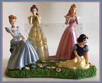 "Walt Disney World - 4x6"" 3D Disney Princess Photo Picture Frame-Four Princesses!"