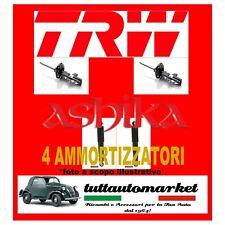 KIT 4 AMMORTIZZATORI ANT TRW+POST FIAT MULTIPLA 1.9 JTD Diesel