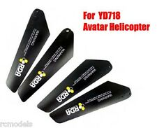 RC helicopter Avatar YD718 Main Blades Rotors 2A+2B UK