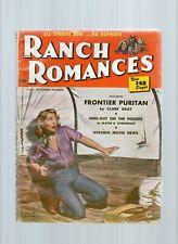 Ranch Romances Pulp Magazine Sept 1st 1952 VG