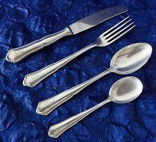 Bruckmann Solitude - 4-tlg Gedeck - Messer, Gabel, Löffel... - Silber-90 (P14
