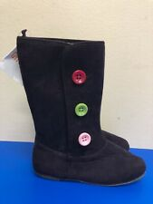 Gymboree Girl Boots purple Tall pull on  boots - Textile upper size US 13