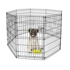 """Dog Play Pens For Small Dogs Corral Para Perros Mascota 30""""H Indoor/Outdoor New"""