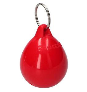 Schlüsselanhänger Bootsschlüsselanhänger schwimmend Bojenfender rot