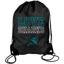 NHL  Love San Jose Sharks Drawstring Backpack