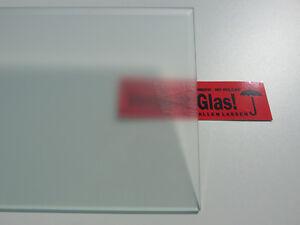 Kühlschrank Einlegeboden 47cm x 19,5cm satiniert (Milchglas) Glasboden Ersatz