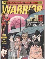 WARRIOR MAGAZINE (1982 Series) #12 Very Fine minus  Marvelman V for Vendetta