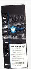 2013 Justin Timberlake Barclays 20/20 Concert Ticket Stub Suite Level 11/6/13