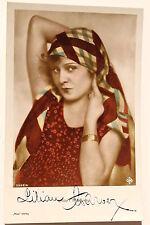 18446 Ufa Autogramm Foto AK Lilian Harvey ROSS Verlag Nr. 3543/4 um 1935