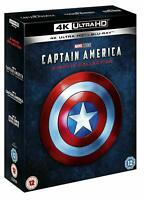 Captain America 1-3 Trilogy Collection 4K UltraHD + Blu-Ray BRAND NEW Free Ship