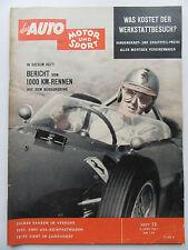 Auto Motor Sport 12/1961, USA Kompaktwagen, Pontiac Tempest, Ford Taunus 17 M